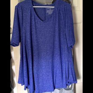 Lane Bryant flowy T-shirt style blouse